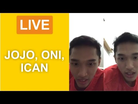 Live Instagram Jonathan Christie, Anthony Ginting, dan Ihsan