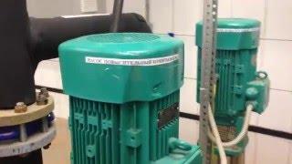 Частотный преобразователь и повысительный насосос ХВС в многоэтажном доме(В июне 2015 года к нам обратилась компания эксплуатирующая повысительные насосы в многоквартирных домах..., 2015-12-03T23:06:03.000Z)