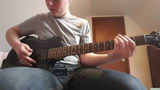 linkin park - nobodies listening (guitar cover)
