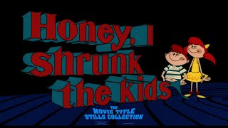 Honey, I Shrunk The Kids (1989) Title Sequence