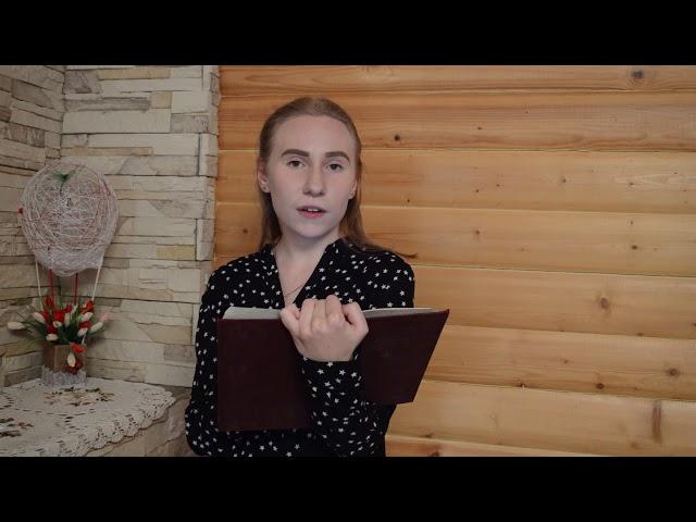 Изображение предпросмотра прочтения – ОльгаКлонова читает произведение «Крохотки:На родине Есенина» А.И.Солженицына