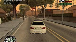 gta san andreias coduri plus mod masina de policie bmw