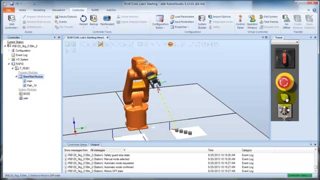 robotstudio 5.15 software