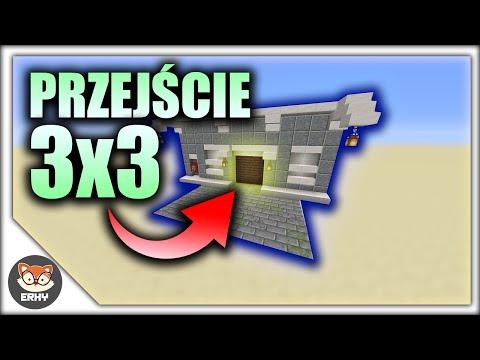 PRZEJŚCIE 3X3 Z PISTONÓW W Minecraft!