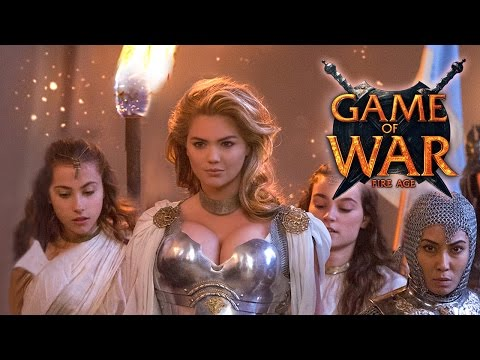 """Game of War - Live Action Trailer ft. Kate Upton """"Who I Am"""""""