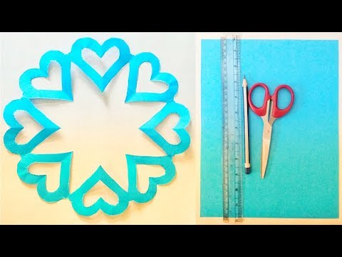 How to make simple & easy paper cutting love designs,DIY Tutorial by Paper crafts step by step2019