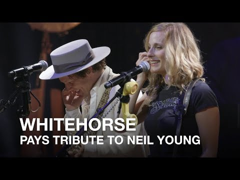 Whitehorse pays tribute to Neil Young | 2017 Canadian Songwriters Hall of Fame