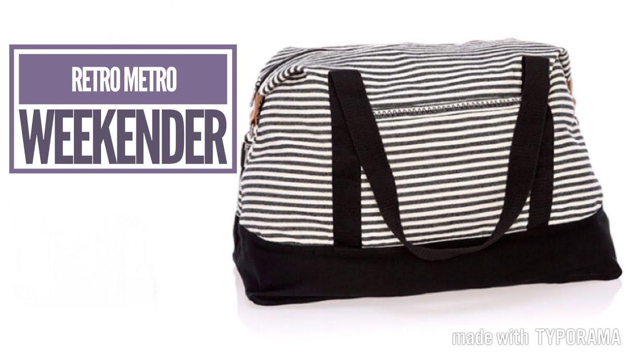 Thirty One Gifts Retro Metro Weekender