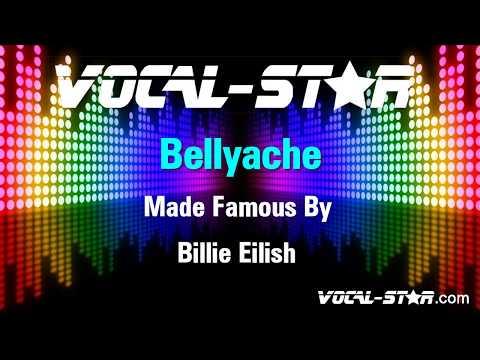 Billie Eilish - Bellyache (Karaoke Version) With Lyrics HD Vocal-Star Karaoke