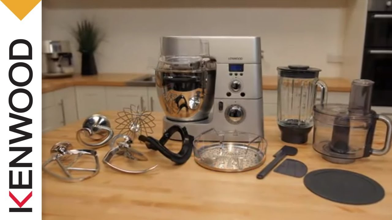 kenwood cooking chef kitchen machine whats in the box - Kennwood Kitchen