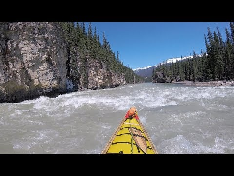 Canoeing The Athabasca River - Athabasca Falls To Old Fort Point
