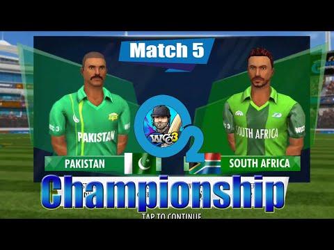 #5 Pakistan Vs South Africa - O2 Championship 2 Overs World Cricket Championship 3 Custom Tournament