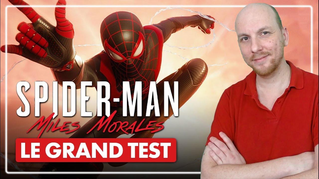 PS5 : Le GRAND TEST Spider-Man Miles Morales ? Que vaut l'un des premiers jeux de la PlayStatio