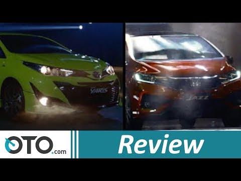 Toyota Yaris vs Honda Jazz I Review | OTO.com