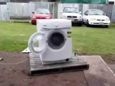 Испытание стиральной машины