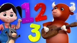 Numero Canzone 1 a 10 | numeri canzone per bambini | Italian Numbers Song