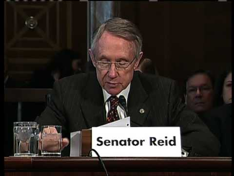 Reid Discusses Importance of Energy Transmission Bill