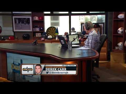 Derek Carr on The Dan Patrick Show (Full Interview) 11/21/2014