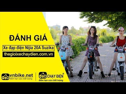 Đánh giá xe đạp điện Nijia 20A Suzika