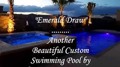 Beautiful Swimming Pools in El Paso TX by Chavez Construction