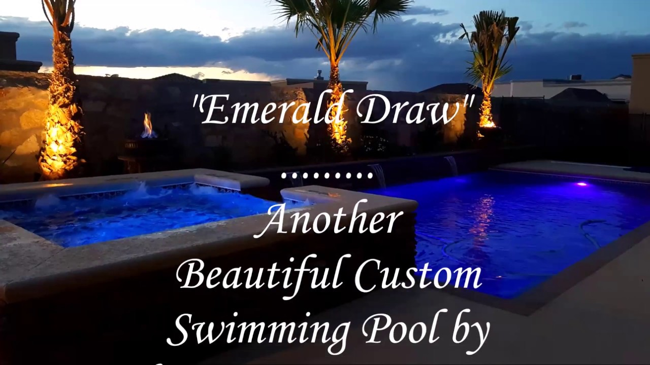 Beautiful Swimming Pools In El Paso Tx By Chavez