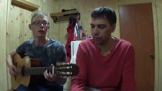 В. Лазарчев с С. Руденко, Кандалакша, О. Митяев