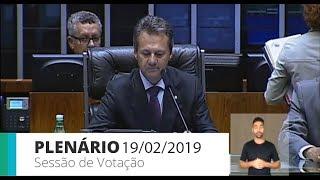 Plenário - Plenário - Sessão Deliberativa - 19/02/2019 14:00