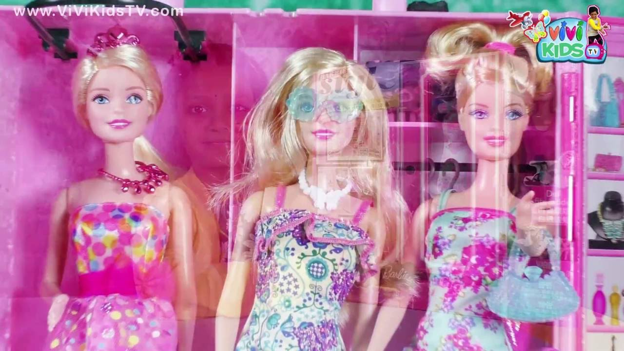 Barbie Makeup And Dress Up Games For Girls Fashion