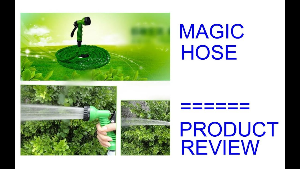 Magic Hose / Garden Hose with 7 Spray Nozzle - Home Product Review