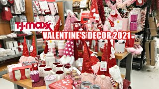 TJ MAXX VALENTINE'S DECOR 2021 SHOP WITH ME!