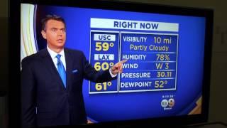 KCAL 9 Los Angeles Earthquake South Bay Area on News live weather man feel earth HDwuake