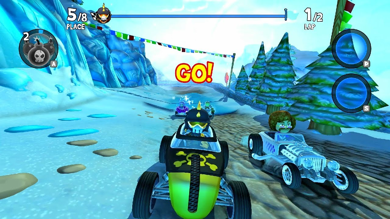 Bomb Clutch Celsius Cup 500 HP Cup | Beach Buggy Racing 2 IA
