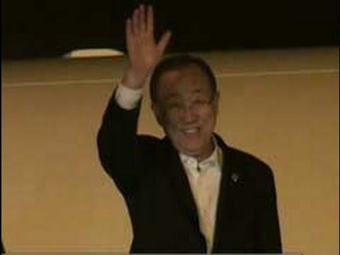 UN cheif Ban Ki-moon ends Sri Lanka visit