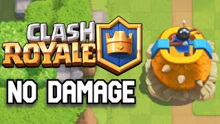 Trying to beat Clash Royale without taking any damage Part 1