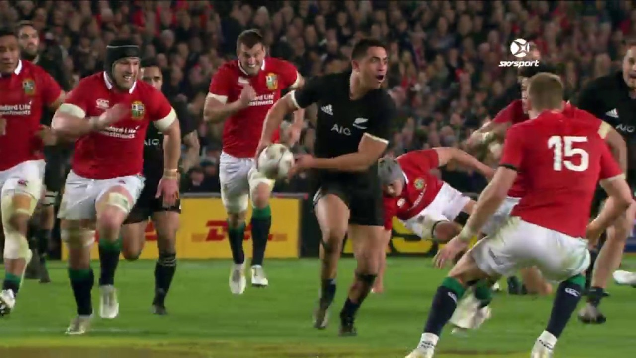 b7f14fed06a HIGHLIGHTS: All Blacks v British & Irish Lions Third Test - YouTube