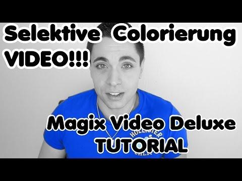 "Magix Video Deluxe 2016 /2015/ 2014 etc. ""Sincity Effekt"", Selektive Colorierung"