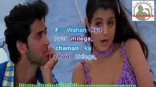 Download lagu Pyar Ki Kashti Mein Hindi karaoke for Male singers with  lyrics