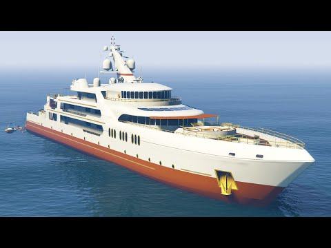 ULTIMATE $10,000,000 YACHT TOUR! (GTA 5 DLC Executives and Other Criminals)