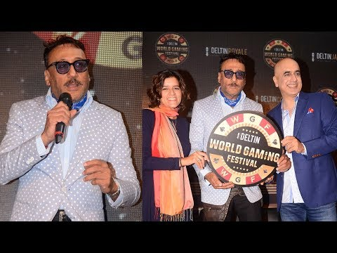 Jackie Shroff's Funny Interview At The Launch Of Deltin World Gaming Festival 2017