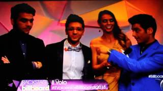 backstage IL VOLO en los Latin Billboard 2013