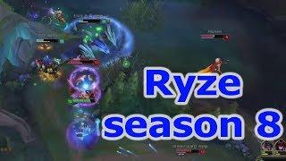 Cách chơi Ryze ở mùa 8 với Faker
