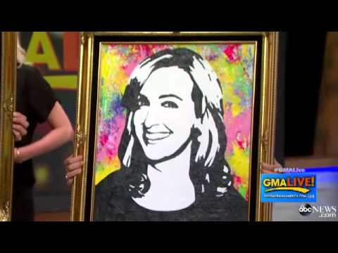 Artist Makes 'GMA' Anchors' Portraits Pop Off the Canvas