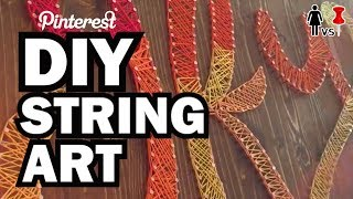 DIY String Art, Corinne VS Pin #30 by : ThreadBanger