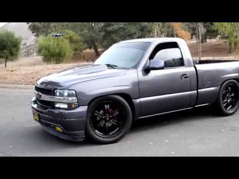 nbs silverado rcsb single cab short bed lsx - YouTube