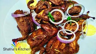 Kaada Nirachath-കാട നിറച്ചത് Kerala Style Stuffed Quail-Kaada Fry-special Recipe