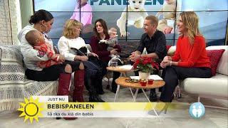 """Vinterkläder för bebisar: """"kör lager på lager, det är bättre"""" - Nyhetsmorgon (TV4)"""