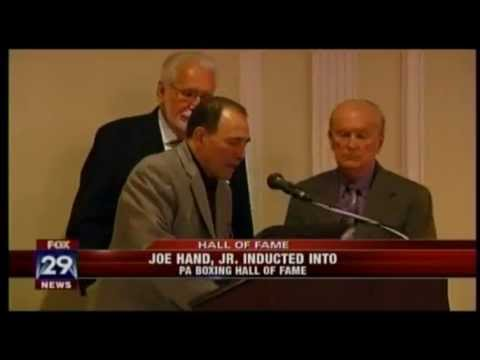FOX 29 TV - Joe Hand Sr. inducted into Pennsylvania Boxing Hall of Fame
