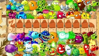 Every Plant Power-Up! vs Camel Zombies in NEW Plants vs Zombies 0