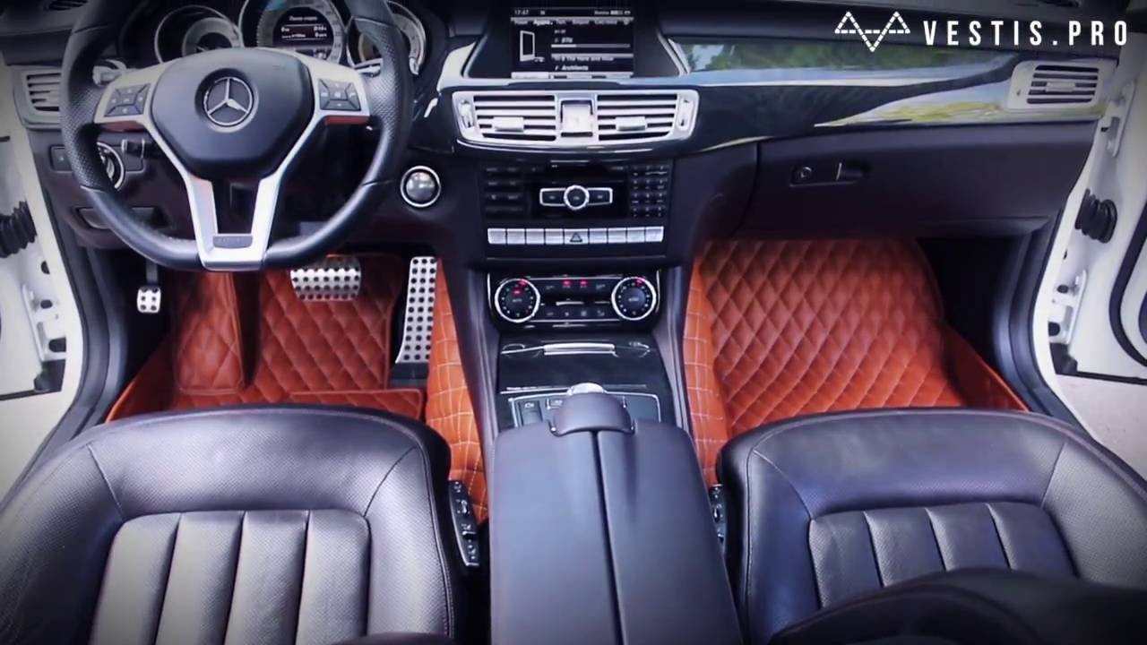 Handcrafted Car Mats Vestis For Mercedes Benz Cls Youtube