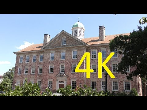 A 4K Tour of UNC (the University of North Carolina at Chapel Hill)